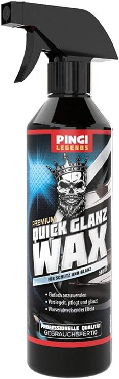 Pingi Wax Auto Schutzwachse Versiegelt Autowachs Brillianter Glanz Autopolitur Auto