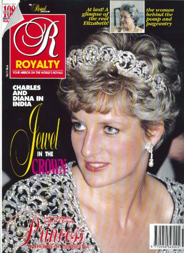 ROYALTY MONTHLY Charles & Diana in India Princess Catherine of Yugoslavia 3 1992 (Best Monthly Magazine In India)