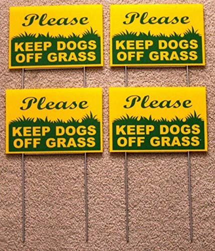 NEW Signs & Plaques ) 4 Please Keep Dogs Off Grass 6