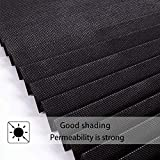 LUCKUP 1 Pack Cordless Blackout Pleated Fabric