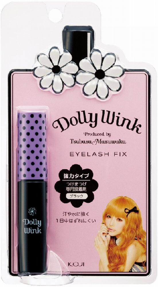 0f7ca083767 Amazon.com : Koji Dolly Wink Eyelash Fix Glue - Black : Fake Eyelashes And  Adhesives : Beauty
