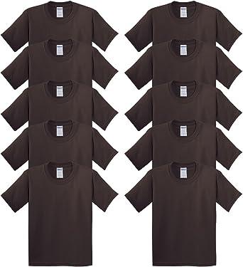 Gildan niños pesado algodón 100% algodón camiseta de manga corta para niños (Pack de 10): Amazon.es: Ropa y accesorios