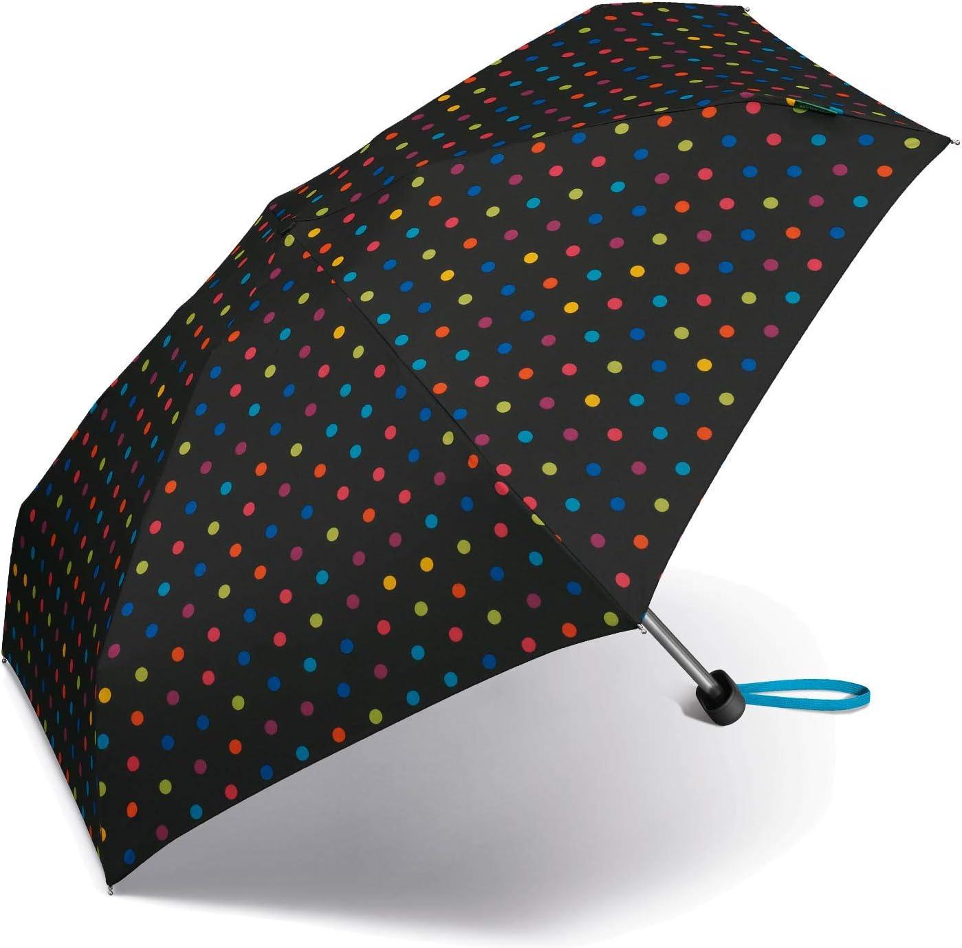 Benetton Ultra Mini Parapluie de Poche Noir