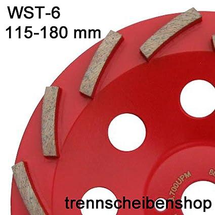 Lijadora de olla, WST-6_ diámetro de 180 mm, profundidad: 21 mm