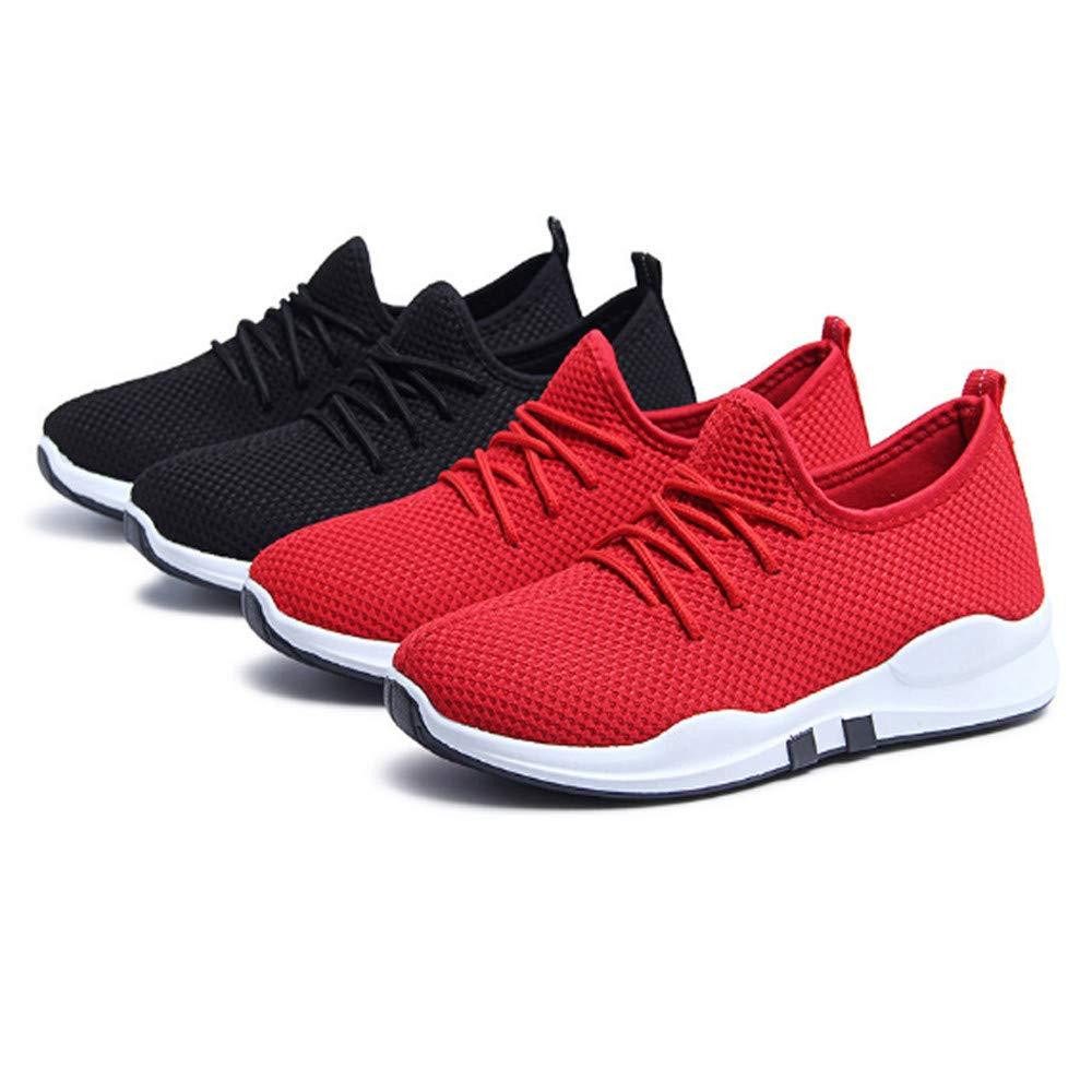 ... Zapatillas de Deporte con Cordones, con Cordones, Planas, cómodas, Gimnasia, Calzado Deportivo, Zapatos Casuales: Amazon.es: Ropa y accesorios