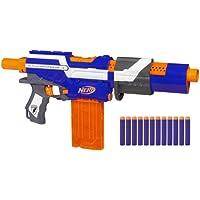 Hasbro Strike Alpha Trooper Toy assault rifle - armas de juguete (Niño, Negro, Azul, Naranja, Color blanco, Nerf, Toy assault rifle, Caja)