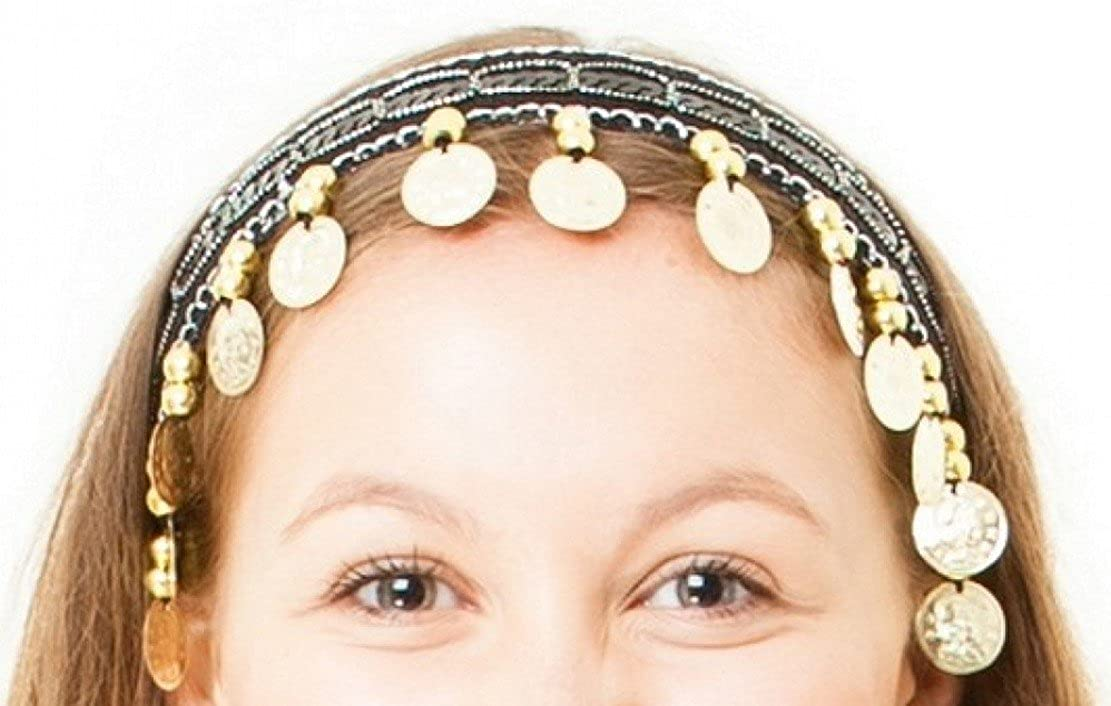 Belly Dance Headwear Head Band Hair Band Tiara Accessory M0027