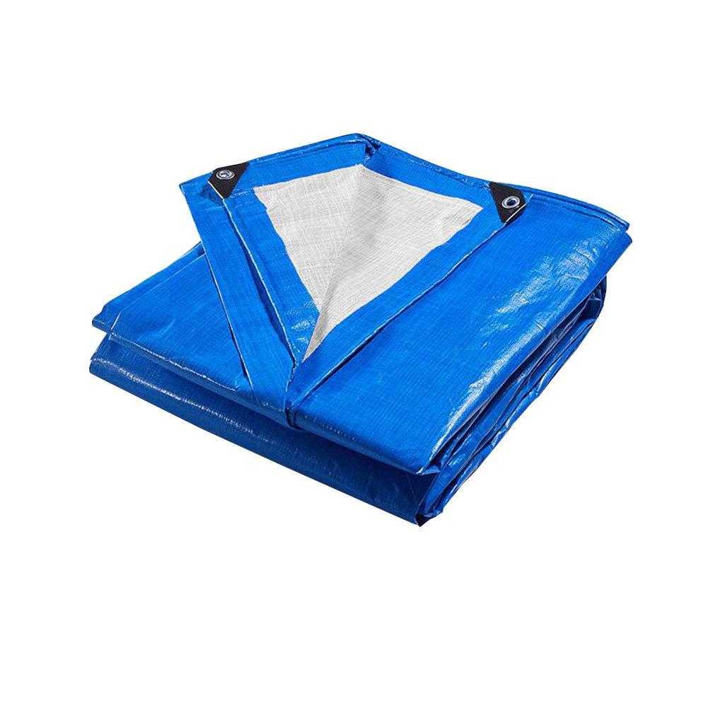 Zeltplanen CJC Plane Blau Hoch Dichte Gewebte Polyethylen 170g/m² 100% Wasserdicht UV Geschützt (größe : 3x6m)