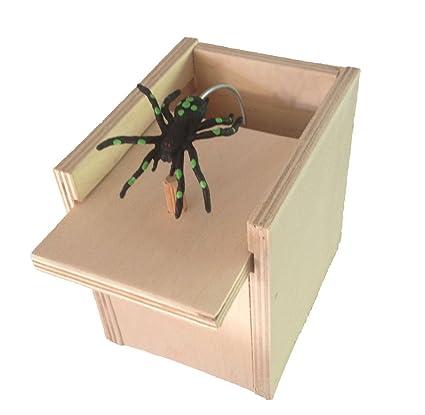 Amazon hilarious scare box spider prank wooden scarebox joke hilarious scare box spider prank wooden scarebox joke solutioingenieria Choice Image