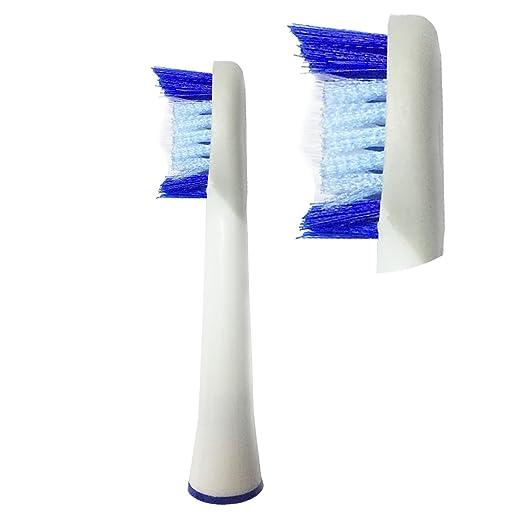 Frost® Pulsonic compatibile 4 X Recambio para Cepillo eléctrico Compatible y en forma Braun Oral-B compatibile with Oral-B / Braun Vitality Precision Clean, ...