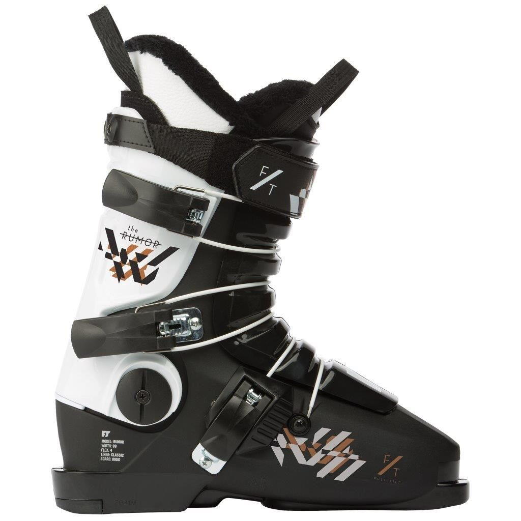 Full Tilt Womens Rumor Womens Ski Boots Mondo Point 255 by Full Tilt