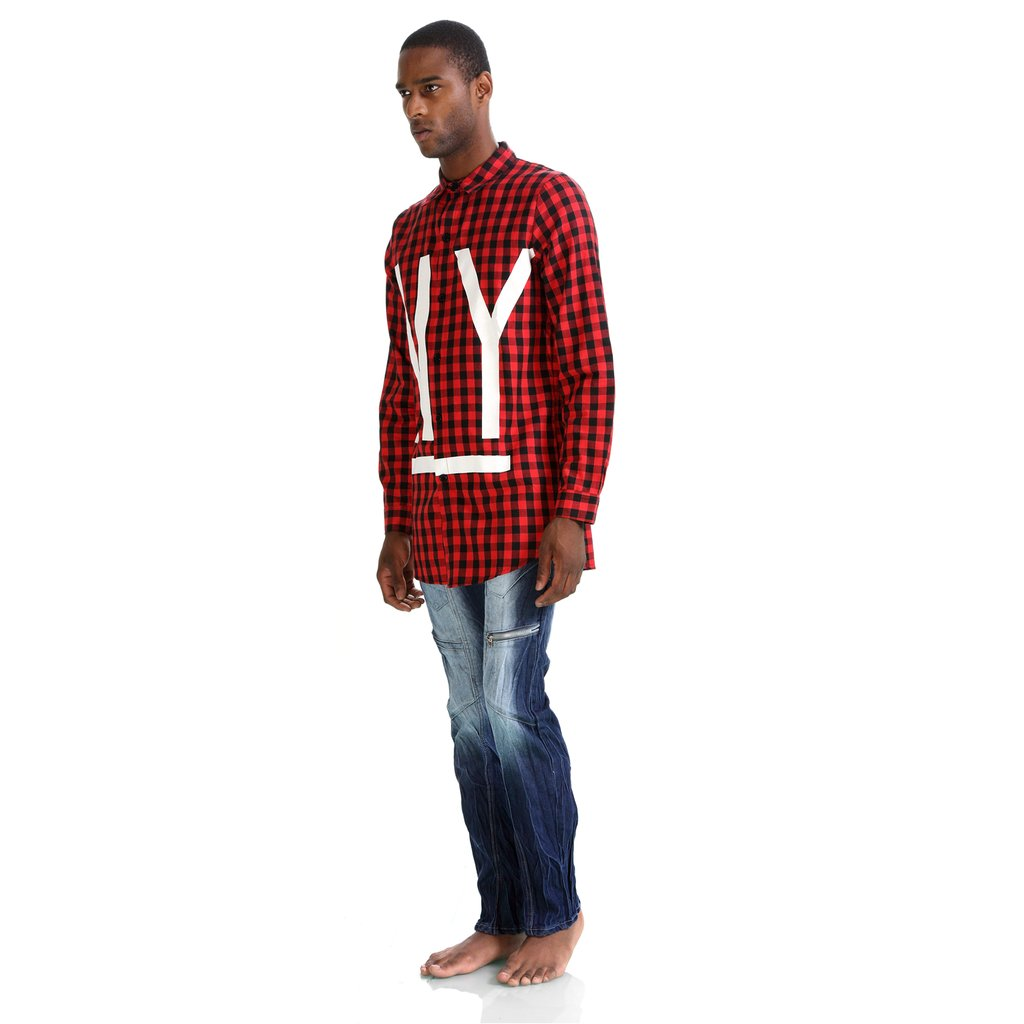PIZOFF Mens Hip Hop High Street Fashion Slim Shirts