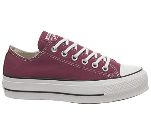 on sale 9f050 911df Converse Chuck Taylor Ctas Lift Ox Canvas, Scarpe da Ginnastica Basse Donna   MainApps  Amazon.it  Scarpe e borse
