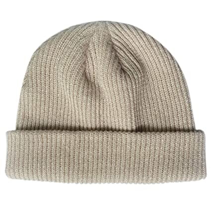 0754c0f5562 Amazon.com  Yearkala Unisex Winter Ribbed Knitted Short Melon Cap ...