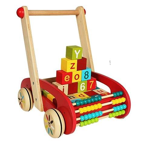 BABIFIS Caminante de la Actividad del bebé, Bloques de construcción intelectuales del Abacus del niño