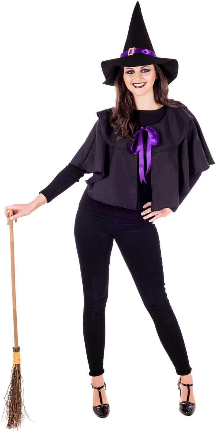 Fun Shack Negra Kit De Bruja Disfraz para Mujeres - Un Tamaño ...
