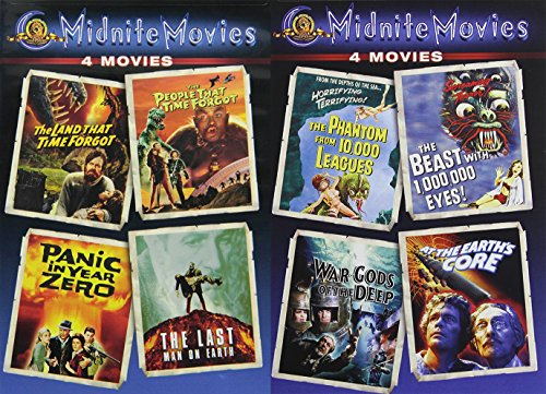 Midnite Movies Land That Time Forgot / People That Time Forgot / Panic in Year Zero / Last Man on Earth / Phantom 10,000 Leagues / Beast 1,000,000 Eyes / (Tower Of Terror Halloween Time)
