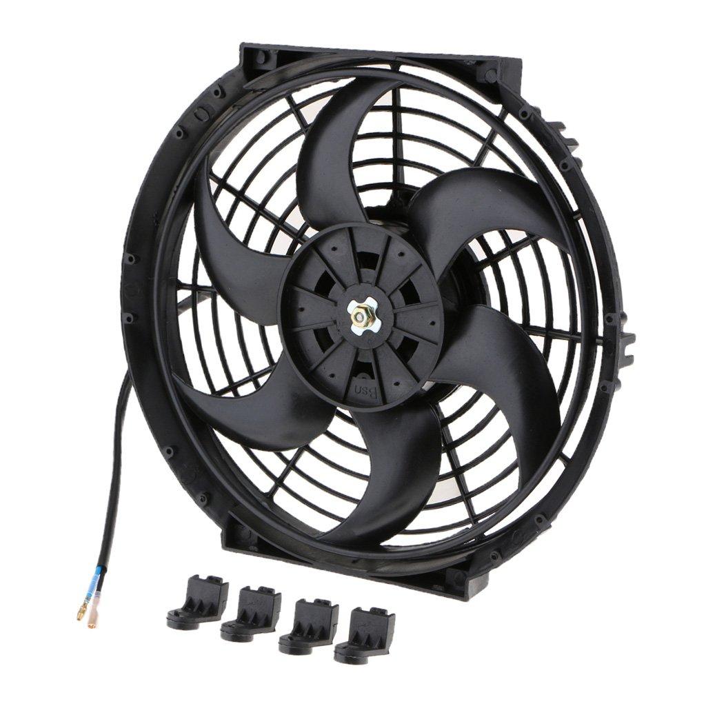 Sharplace ventole elettriche di raffreddamento di radiatore universale da auto