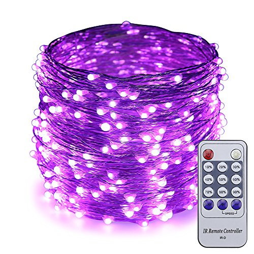 Purple Led Holiday Lights in US - 9