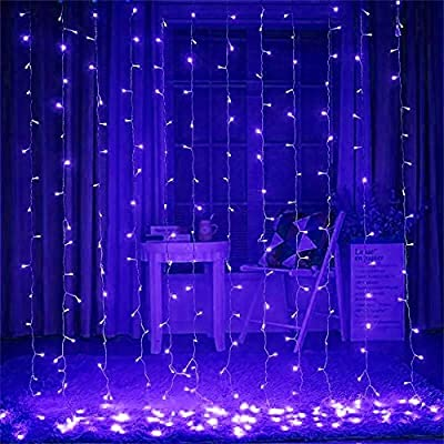 Curtain Lights 1000 leds 32ftX32ft Blue Christmas Led Curtain Icicle Lights String Fairy Light windows curtain lights
