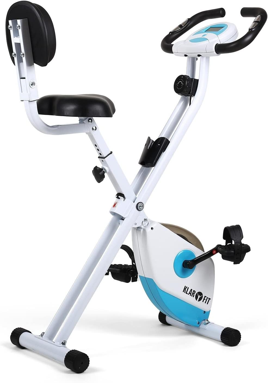 Klarfit X-Bike 700 Bicicleta Estática Plegable (Pulsómetro ...