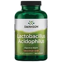 Swanson Acidophilus 2 Billion Cfu 250 Capsules