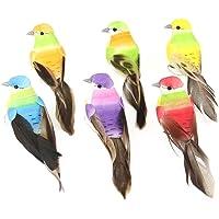 ToSSme DIY Espuma Muy Linda Simulada Colorido Birds