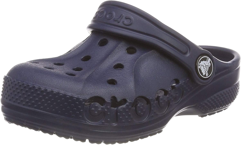 25//26 EU Blau Navy 410 Crocs Unisex-Kinder Baya Kids Clogs