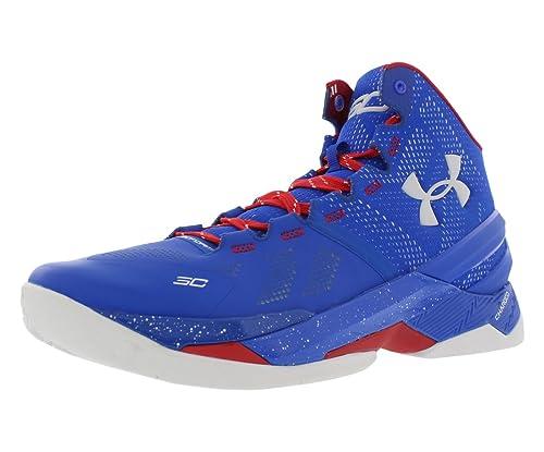 b6e58f057221 Under Armour Curry 2 PE Providence Road 1259007-401 Warriors Dub Nation 9.0  MVP  Amazon.ca  Shoes   Handbags