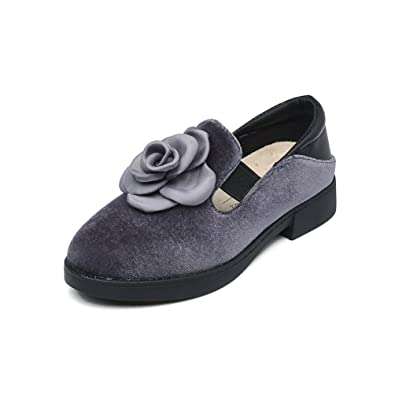 Girls Casual Schuhe Wasserdicht Slip-on Kindermode Mary Jane XTNSA