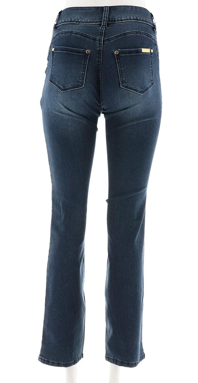 Iman Luxury Denim Jean Boot-Cut Classic Denim 2 Long New 556-514