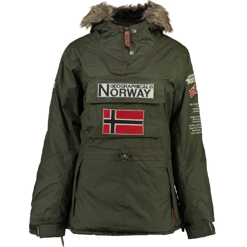 Geographical Norway - Skijacke für Damen - Farbe Grün - Größe 5 (48/50)