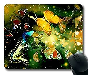 Nice Butterfly Popular Masterpiece Limited Design Oblong Mouse Pad by Cases & Mousepads