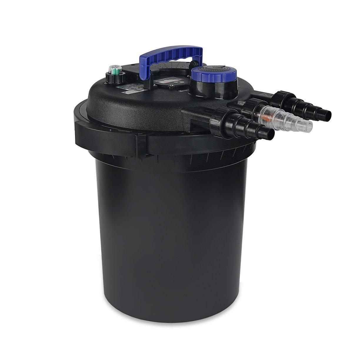XtremepowerUS 10000 koi Pond Pressure Bio Filter UV Sterilizer