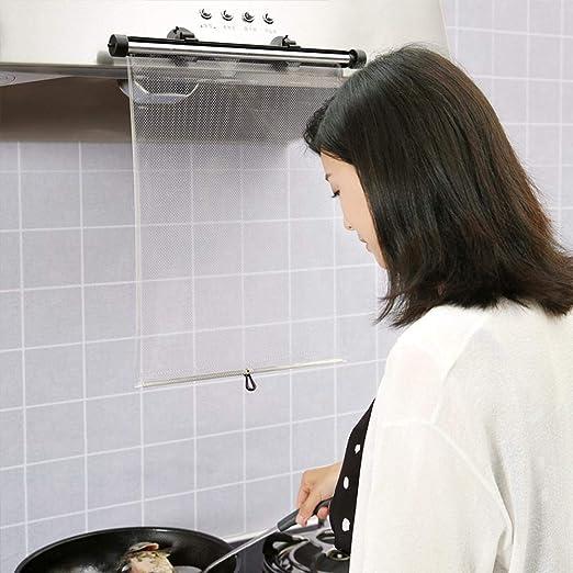 Compra Cocina Cocina Mascarilla Anti Aceite Splash Máscara Facial Clara Protector de Pantalla Protectora Máscara Transparente Herramienta de Cocina para Campana en Amazon.es