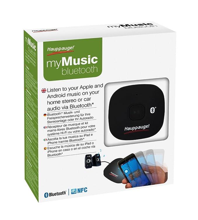 Hauppauge myMusic - Transmisor de música Bluetooth: Hauppauge: Amazon.es: Electrónica