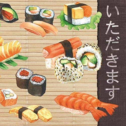 Ambiente Tovaglioli 33 x 33 cm Sushi Party//pranzo