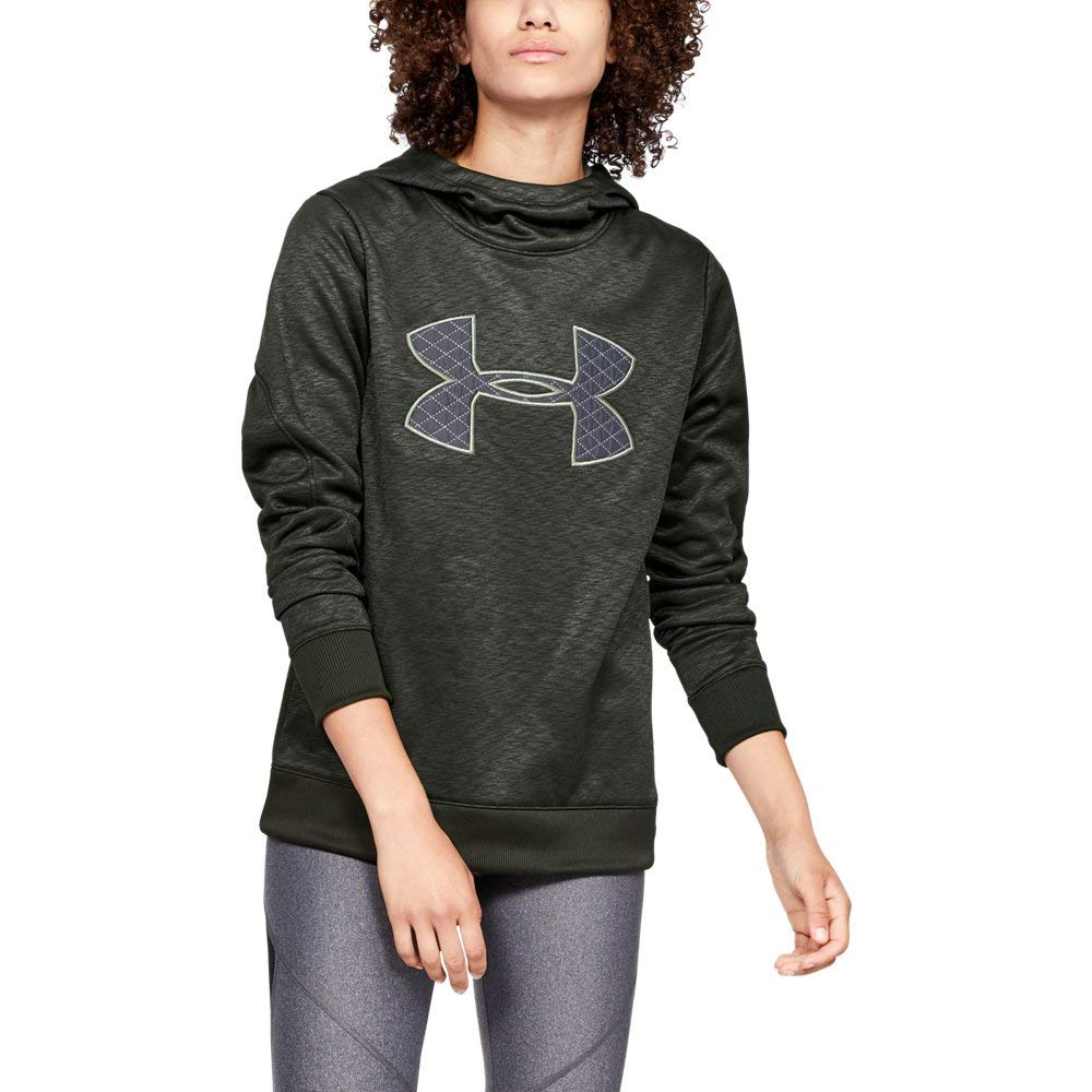 Under Armour Women's Synthetic Fleece Pullover, Artillery Green (358)/Grove Green, XX-Large by Under Armour
