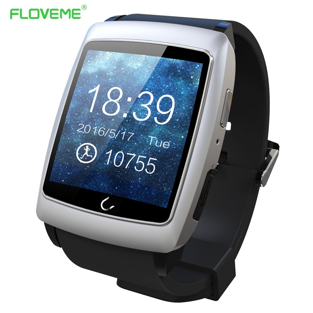 FLOVEME Reloj Bluetooth SmartWatch Fitness Reloj con ...