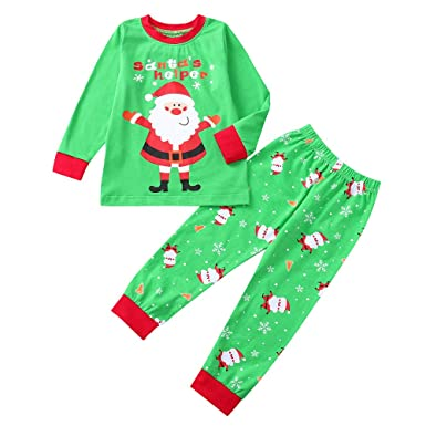 9df2effa5 Zerototens Christmas Kids Clothes Set,1-5 Years Old Toddler Kids Clothes Baby  Girl