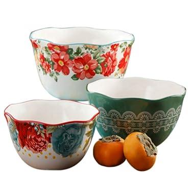 Blossom Jubilee 3pc Serving Bowl Set