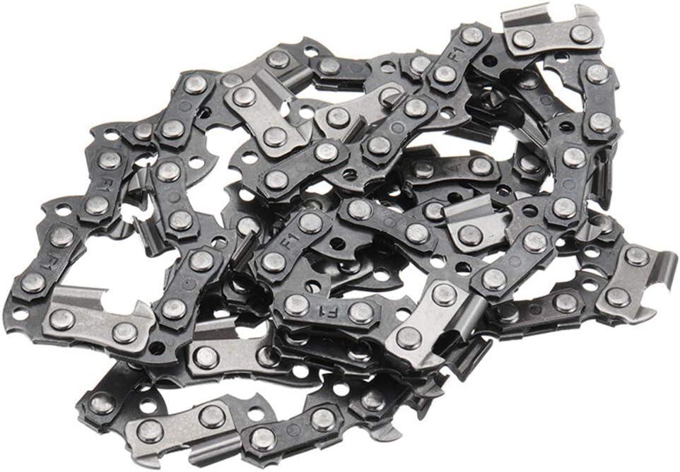 Shefii cadena de sierra de 50 secciones cadena de sierra de 3//8 LP Barra gu/ía para motosierra de 14 pulgadas