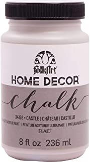 product image for FolkArt Home Decor Chalk Furniture & Craft Paint in Assorted Colors, 8 ounce, Castle