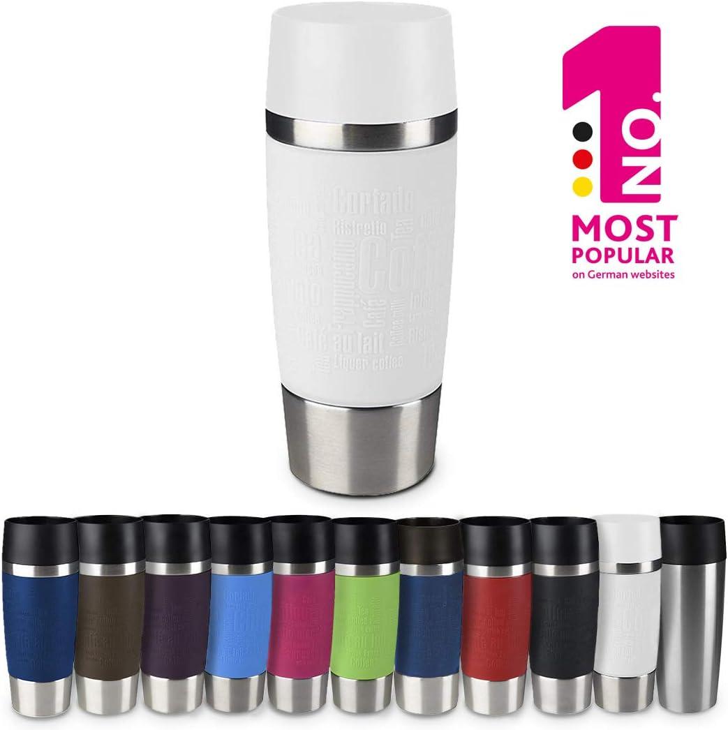 """Emsa Vacuum Mug""""Travel Mug"""" 12.2 fl oz In White,"""