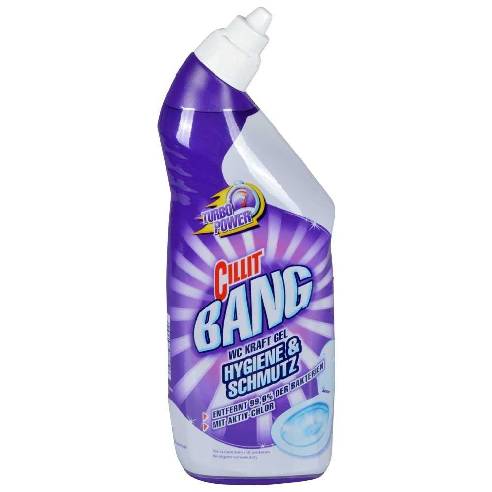 Cillit Bang Tapa de inodoro Fuerza Gel Higiene + Suciedad 750 ml Limpiador: Amazon.es: Hogar