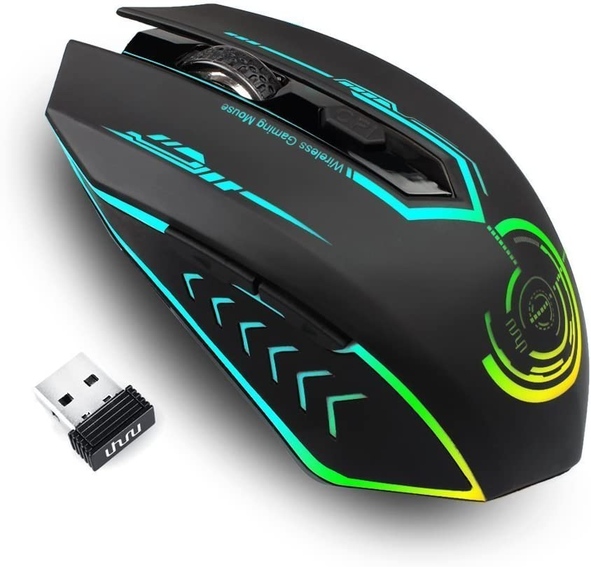 Uhuru Wireless Gaming Mouse Computers Accessories