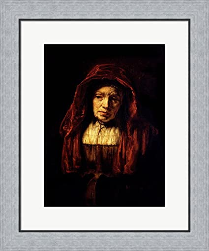 Amazoncom Great Art Now Portrait Of An Old Woman By Rembrandt Van