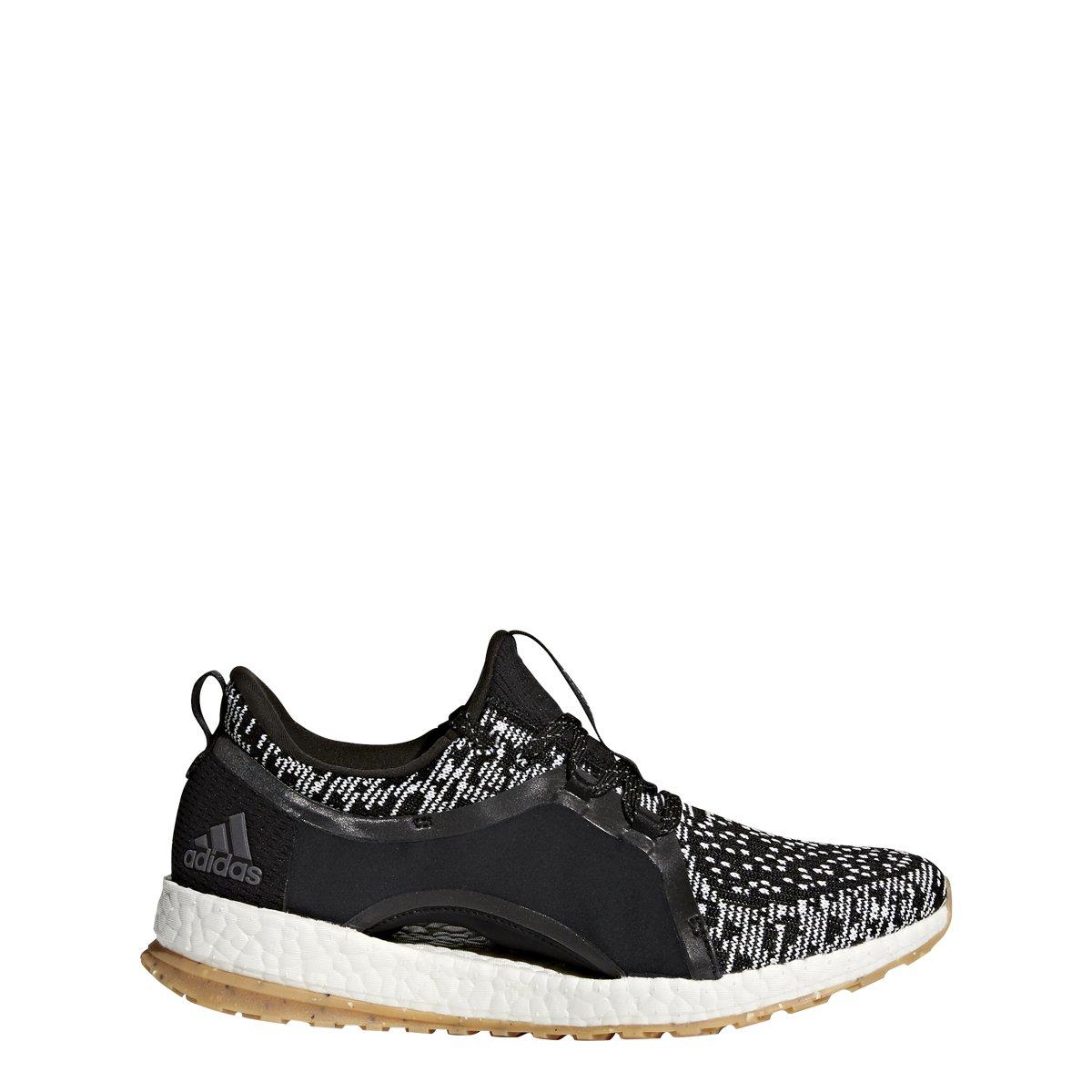 adidas Performance Women's Pureboost X ATR Running Shoe, Black/White/Black, 9 Medium US