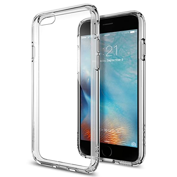brand new ed250 9e149 Spigen Ultra Hybrid Designed for Apple iPhone 6S Case (2015) - Space Crystal