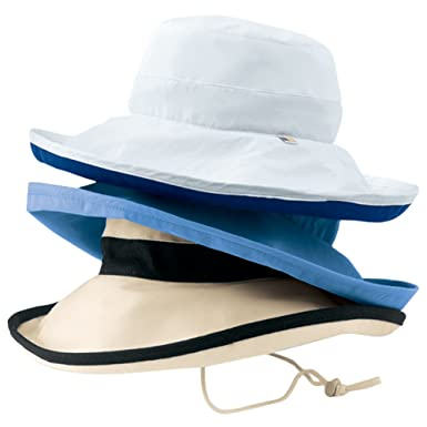472b01bd Solumbra Rolled Brim Hat - 100+ SPF Sun Protective at Amazon Women's  Clothing store: Sun Hats